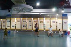Shenzhen, China: Celebrity knowledge Exhibition Royalty Free Stock Photo