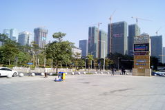 Shenzhen, china: center city landscape Stock Photo