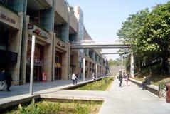 Shenzhen, china: center city landscape Royalty Free Stock Photos