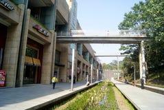Shenzhen, china: center city landscape Stock Images