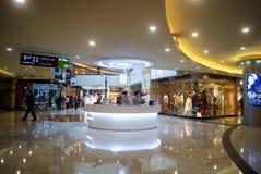 Shenzhen, china: center city landscape Royalty Free Stock Image