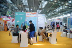 Shenzhen, China: Charity Exhibition Royalty Free Stock Photography
