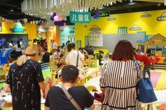 Shenzhen, China: children play games Stock Photography