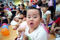 Shenzhen china: children's day activity Royalty Free Stock Photography