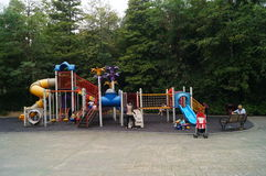 Shenzhen, China: Children's entertainment facilities Royalty Free Stock Photography