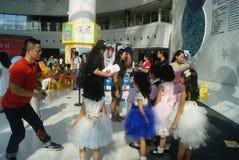 Shenzhen, China: Children's film the scene activities Stock Photo