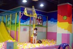 Shenzhen china: children's playground Stock Photos