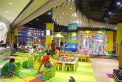 Shenzhen, China: Children's Recreation Area Royalty Free Stock Photography