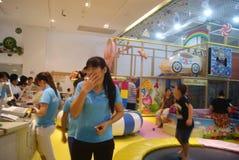 Shenzhen, China: Children's recreation center Royalty Free Stock Image