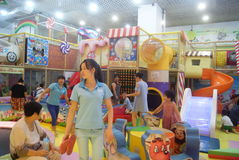 Shenzhen, China: Children's recreation center Royalty Free Stock Photography