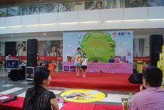 Shenzhen, China: Children's talent show activities at the scene Royalty Free Stock Images