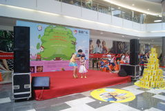 Shenzhen, China: Children's talent show activities at the scene Stock Photo