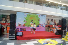 Shenzhen, China: Children's talent show activities at the scene Stock Photography