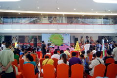Shenzhen, China: Children's talent show activities at the scene Royalty Free Stock Photo