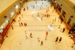 Shenzhen, China: children in skating, very happy Royalty Free Stock Photos
