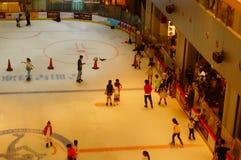Shenzhen, China: children in skating, very happy Stock Photos