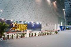 Shenzhen, China: Chinese Lunar Exploration Program science Awareness Week activities Royalty Free Stock Image