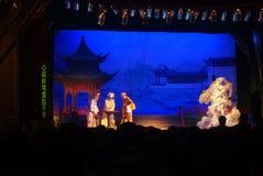 Shenzhen, China: Chinese opera performances Stock Image
