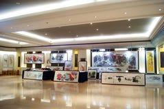 Shenzhen china: chinese painting exhibition Stock Photography