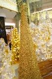 Shenzhen, China: Christmas decoration landscape Stock Photography