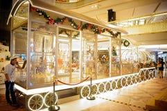 Shenzhen, China: Christmas landscape decoration Royalty Free Stock Photography