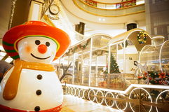 Shenzhen, China: Christmas landscape decoration Royalty Free Stock Images