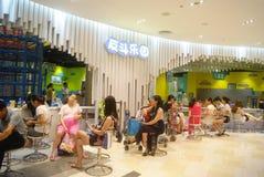 Shenzhen, China: Cidade do entretenimento das crianças Fotos de Stock Royalty Free