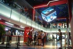 Shenzhen, China: Cinema interior landscape Stock Image