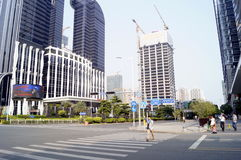 Shenzhen, China: City Building Stock Photography