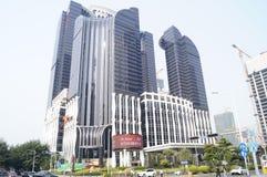 Shenzhen, China: City Building Stock Image