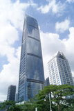 Shenzhen, China: City Building Royalty Free Stock Photography