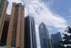 Shenzhen, China: City Building Royalty Free Stock Photos