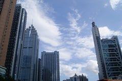 Shenzhen, China: City Building Royalty Free Stock Image