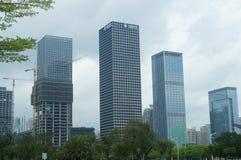 Shenzhen, China: city landscape building Royalty Free Stock Photos