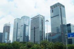 Shenzhen, China: city landscape building Stock Images