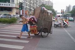 Shenzhen, China: City Road Traffic Royalty Free Stock Photo