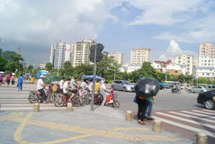 Shenzhen, China: City Road Traffic Stock Photos