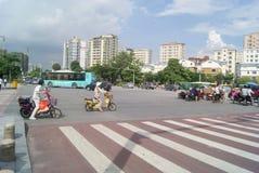 Shenzhen, China: City Road Traffic Stock Images