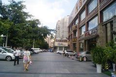 Shenzhen, China: City Road Traffic Royalty Free Stock Photography