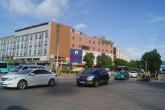 Shenzhen, China: City Road Traffic Royalty Free Stock Images