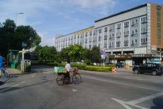 Shenzhen, China: City Road Traffic Stock Image