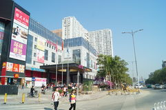 Shenzhen, China: City Road Traffic Royalty Free Stock Images