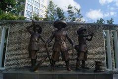 Shenzhen, China: city sculpture landscape Stock Photos