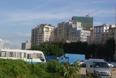 Shenzhen, China: city suburban landscape Stock Photo