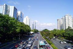 Shenzhen china: city traffic Stock Photo