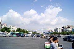 Shenzhen china:  city traffic Stock Photos