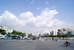 Shenzhen china:  city traffic Stock Image