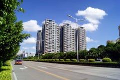 Shenzhen china: city traffic Royalty Free Stock Image