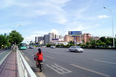 Shenzhen china: city traffic Stock Images