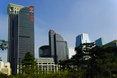 Shenzhen China City view Royalty Free Stock Image